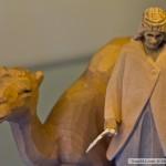الجمل العربي - متحف سويسرا المفتوح